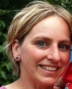 Physiotherapeutin Karin Mayer